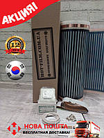 Акция!8м2(1,76кВт) Инфракрасный Теплый пол HotFilm Корея+Терморегулятор Термопленка под линолеум