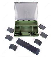 Коробка карповая  Carp big f-tackle box st