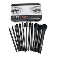 Набор кистей для макияжа Huda Beauty 12 штук