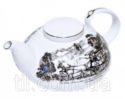 FAMILY TEA POT 800ml Фарфоровый Чайник Семейный