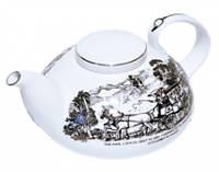 FAMILY TEA POT 800ml Фарфоровый Чайник Семейный, фото 1