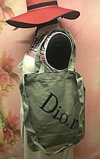 Пляжная женская сумка через плечо под модный бренд Dior, фото 2
