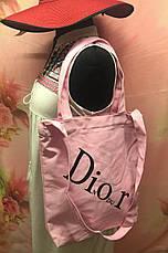 Пляжная женская сумка через плечо под модный бренд Dior, фото 3