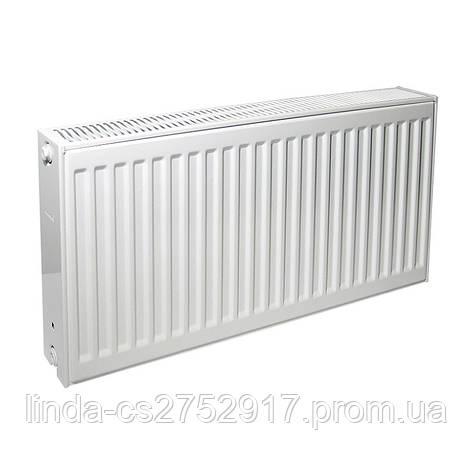 Сталевий радіатор панельний Bor Pan 22 тип висота 600*600, сталь 1,20 мм, Туреччина, радіатор купити в Одесі, фото 2