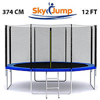 Батут детский SkyJump 12 фт., 374 см.ЦЕНА 5400грн, фото 1