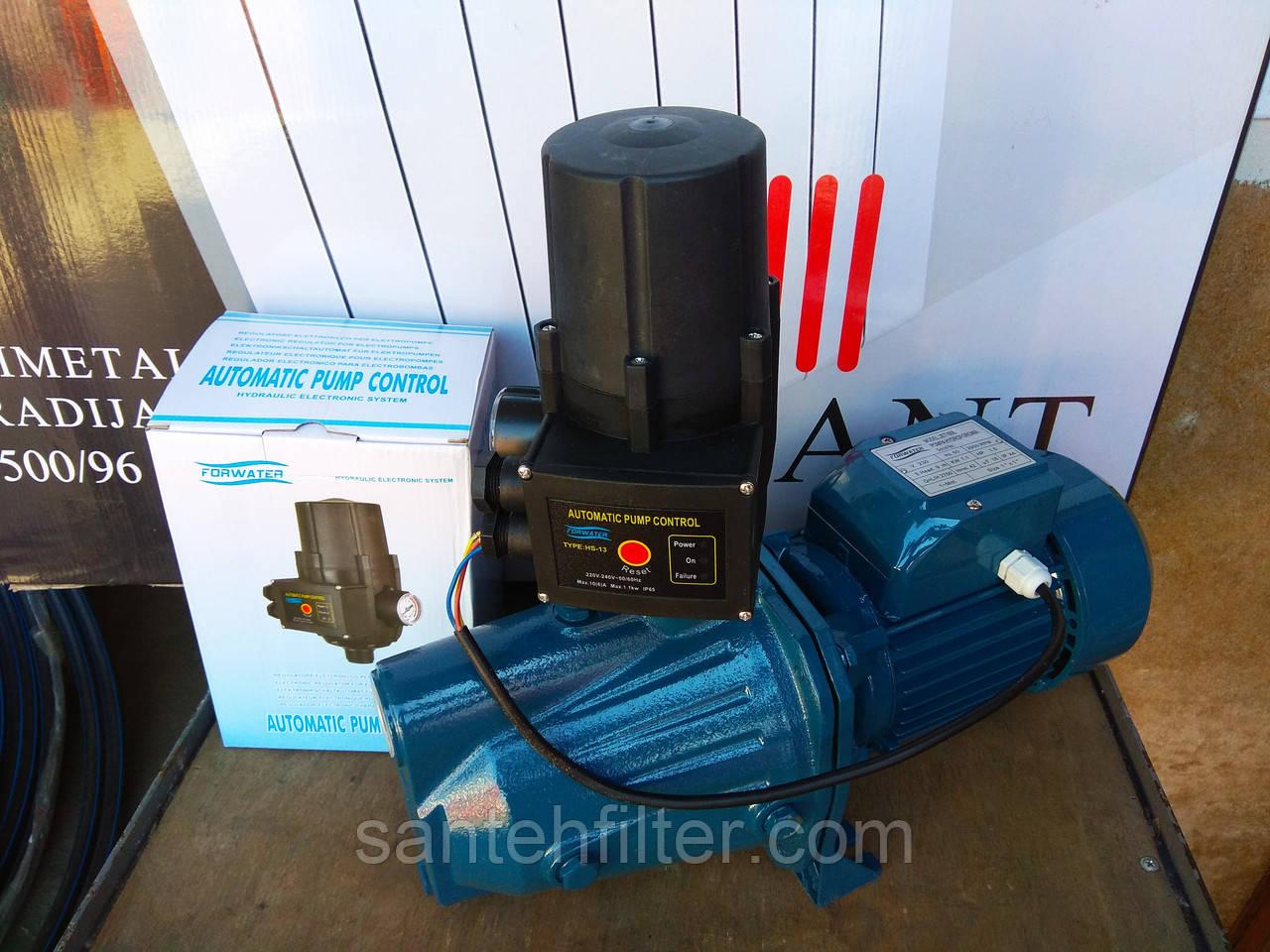 Насосная станция JET100L 1.1 кВт Forwater с регулятором давления HS-13