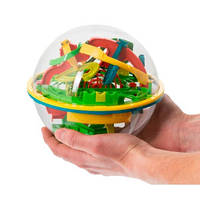 Волшебный шар, головоломка Шар-лабиринт Перплексус (Лабиринтус, Мебиус) 20 см