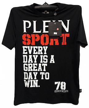 Мужская футболка с надписями Philipp Plein , фото 2