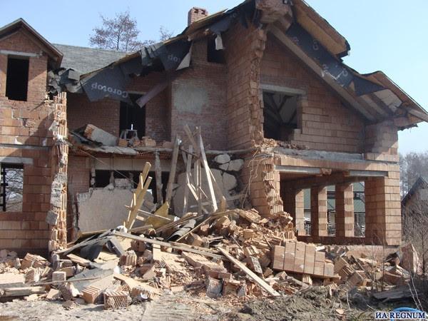 Демонтажные работы здание Полтава