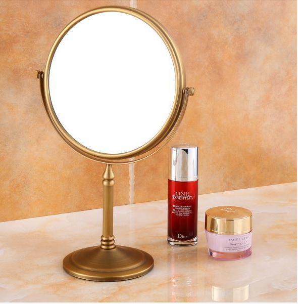 Зеркало настольное бронзовое поворотное 6-017