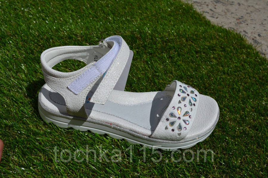 Детские босоножки сандали на девочку белые