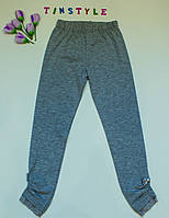 Стильные трикотажные лосины   для девочки рост 116 см, фото 1