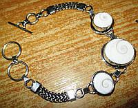 Изящный браслет с глазами Шивы, фото 1
