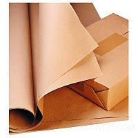 Упаковочная крафт бумага в рулоне 10 кг плотность 80 г/м2, фото 1