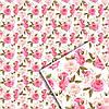Подарочная упаковочная бумага УП - Цветочная №103
