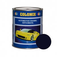 Автокраска 456 Темно-синяя COLOMIX алкидная краска 1л