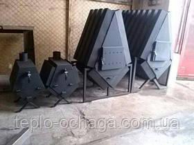 """Твердотопливная печь """"TURBINA-500"""" 3 мм, фото 2"""