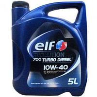 Моторное масло Elf Evolution 700 Turbo Diesel 10W-40 5 л.