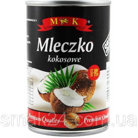 Кокосовое молоко Mleczko kokosowe M K, 400 мл Польша