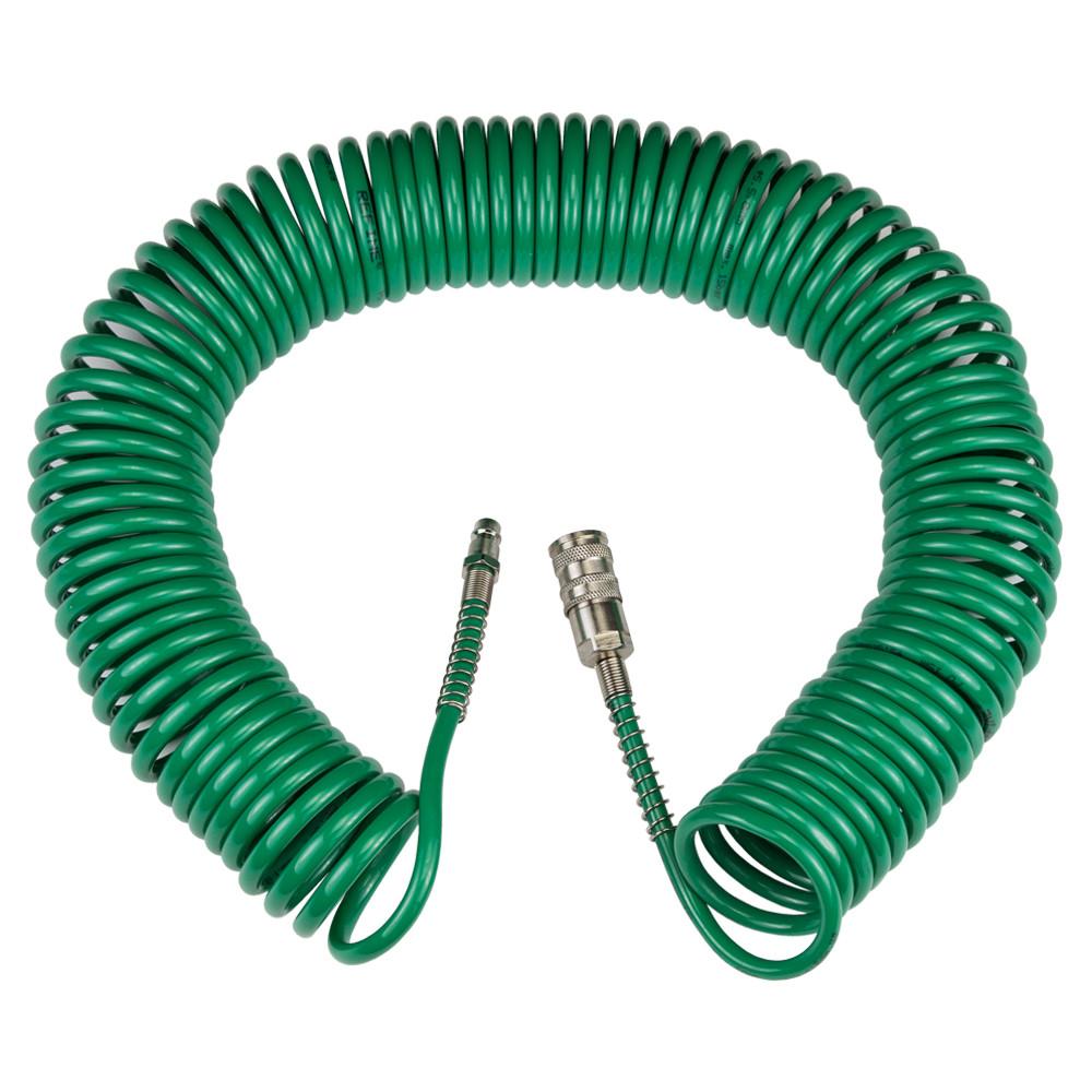 Шланг полиуретановый спиральный PU 15м 5.5×8мм Refine 7012081