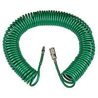Шланг полиуретановый спиральный PU 15м 5.5×8мм Refine 7012081, фото 1