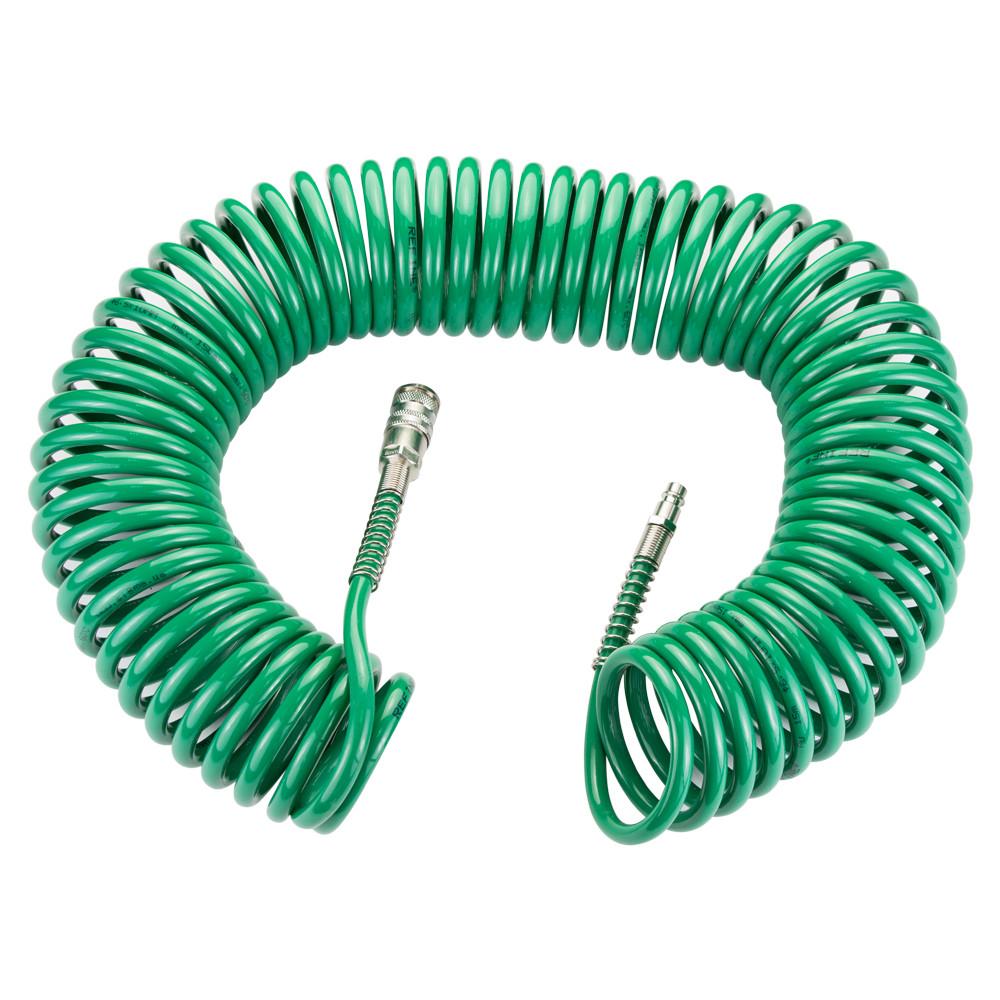 Шланг спиральный PU 15м 6.5×10мм Refine 7012181