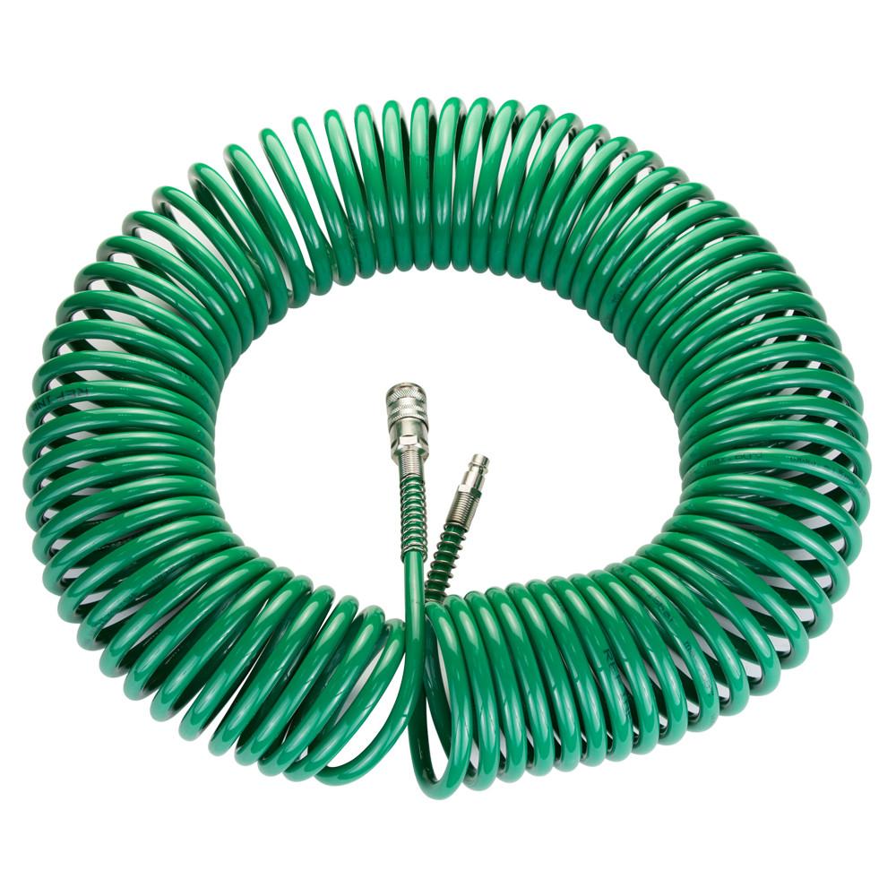 Шланг воздушный для компрессора спиральный PU 20м 6.5×10мм Refine 7012191