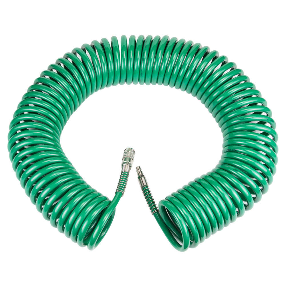 Шланг спиральный PU 20м 8×12мм Refine 7012291
