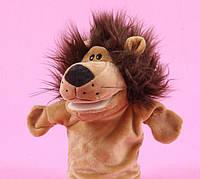 Мягкая игрушка на руку, кукольный театр, Лев