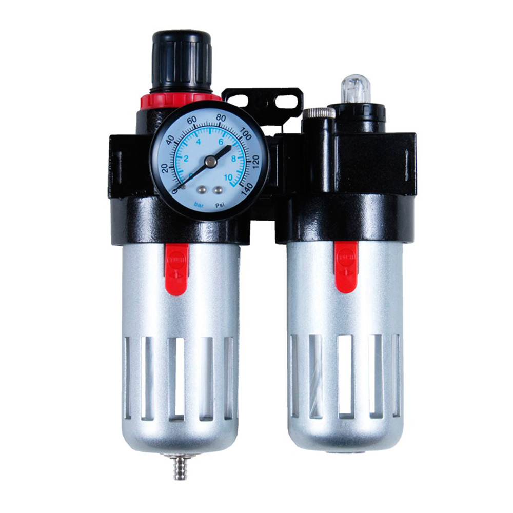 Блок подготовки воздуха (фильтр, редуктор, манометр, маслообогатитель ) sigma 7034021