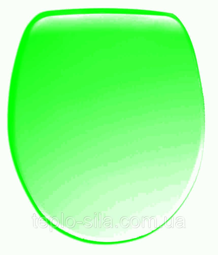Туалетное сидение Nova King (зелёный)