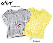 Детская футболка Alive на девочку 5-6 лет, рост 116 набор из 2 шт.