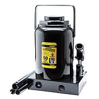 Домкрат гідравлічний пляшковий 50т H 300-480мм sigma 6101501