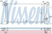 Радиатор охлаждения FORD TRANSIT 1992- 2.5 D Nissens