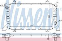 Радиатор охлаждения FORD TRANSIT 1994- 2.5 D Nissens