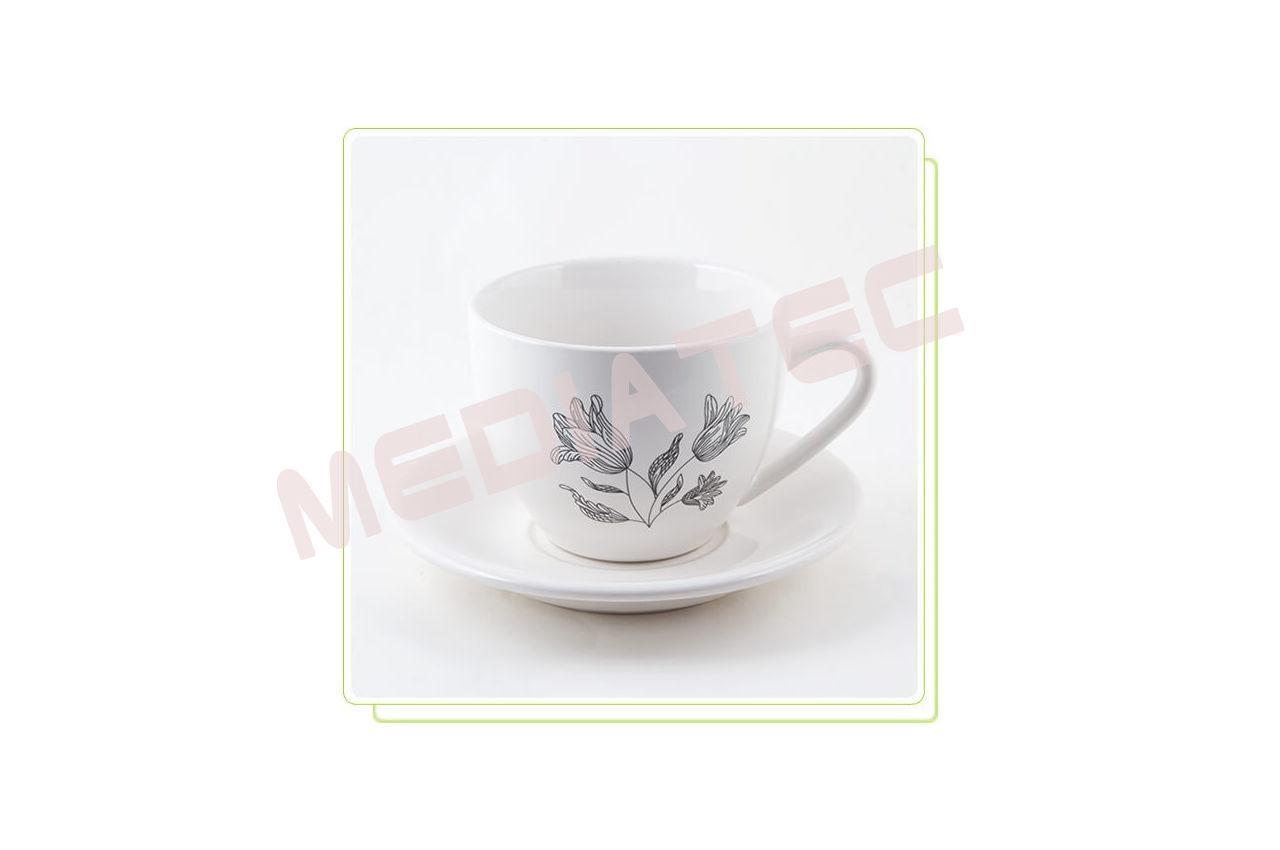 Набор чашек и блюдец керамический Maestro - 12 ед.