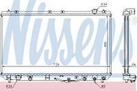 Радиатор охлаждения TOYOTA CAMRY V20 3.0 Nissens