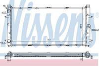 Радиатор охлаждения VW TRANSPORTER T4 1.8-2.8 Nissens