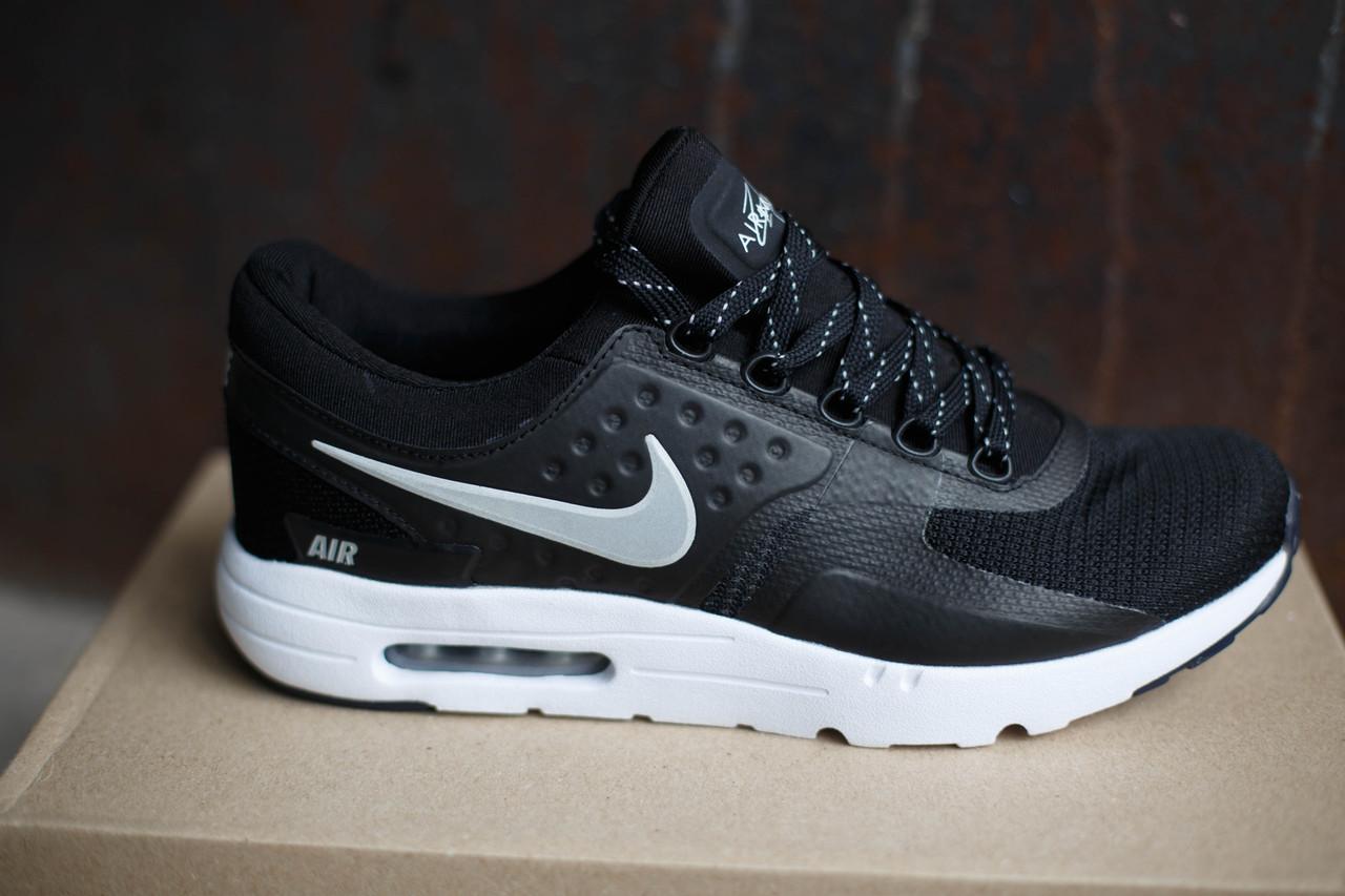 Кроссовки мужские Nike Air Max Zero. Черные