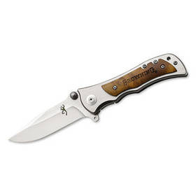Нож складной 339 BROWNING (white)