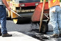 Ремонт дорог, ямочный ремонт