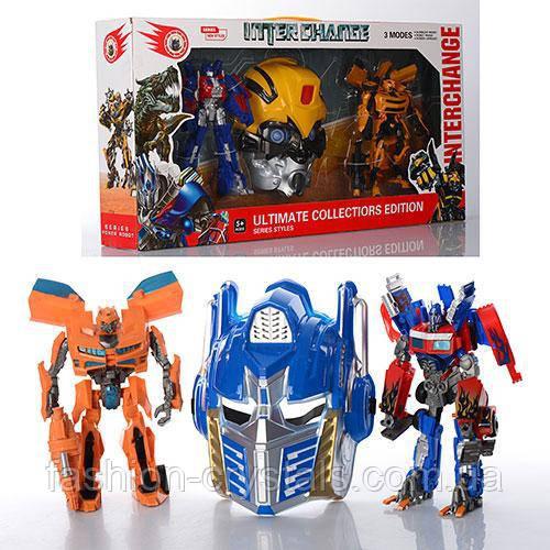 Набор игровой 2 в1 transformers