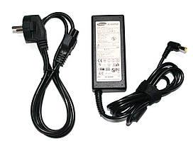 Блок живлення для моніторів Samsung 19V 2.14 A (6.5*4.4) + мережевий кабель