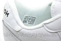 Кроссовки мужские в стиле Reebok Classic Leather, Premium White, фото 3