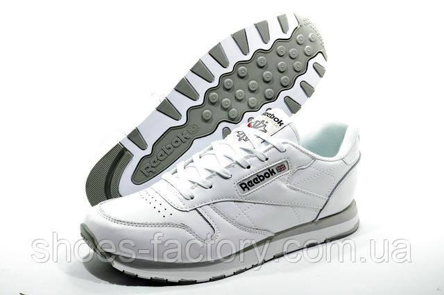 Белые кроссовки Reebok Classic Leather