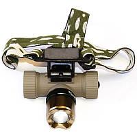 Налобный фонарик Bailong Police BL-6866