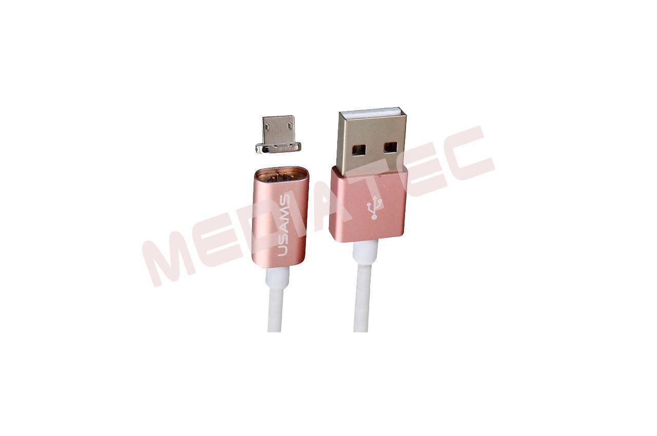 Кабель Micro-USB Usams - US-SJ036 1м Rose Gold