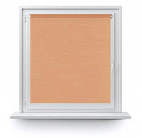 Рулонные шторы Марсель 605 персиково-оранжевый