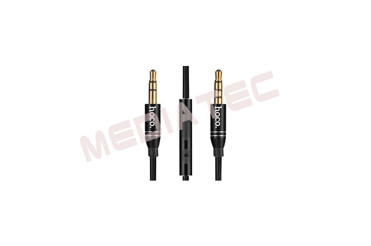 Кабель AUX Hoco - UPA05 1м Black