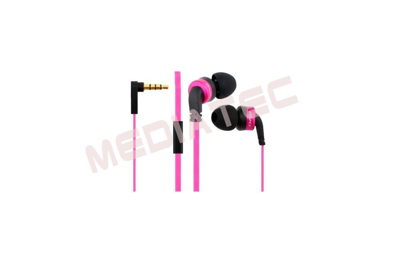 Наушники Awei - ES13i Pink